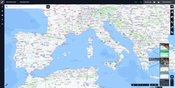 Map Creator Start View
