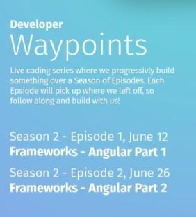 Developer Waypoints