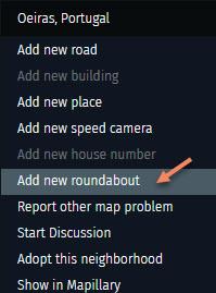 Add Roundabout