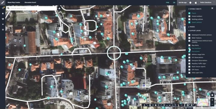 MapFeedback Menu